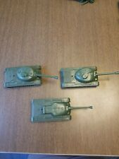 Vintage toy army tank Lot Of 3