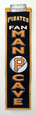 """Pittsburgh Pirates Cave Heritage Banner Embroidered Wool 32""""x 8"""" **Brand New**"""