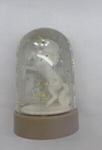 Vintage Unicorn Enesco Snow Globe