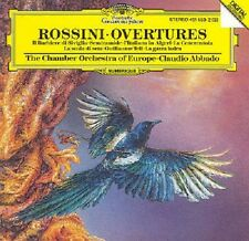 CD  Rossini The Chamber Orchestra Of Europe  Claudio Abbado Overtures