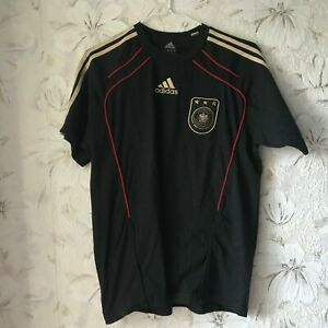 Germany Football Shirt Soccer Jersey Adidas P47770 Black 2010 - 2011 Size M