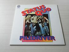 STATUS QUO PILEDRIVER LP UK VERTIGO 1972 FIRST PRESS SWIRL LABEL GATEFOLD