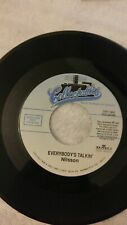 Nilsson Everybody's Talkin I Guess the Lord Must be in New York City 45 Jukebox