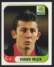 """EURO 96 STICKER - TURKEY - """" SERGEN YALCIN """" No 308 BY MERLIN"""