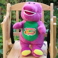 """Barney le dinosaure Chante je t'aime chanson Violet 12 """" Peluche Doux Jouets 1pc"""