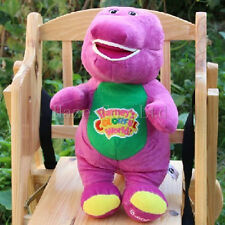 Barney The Dinosaur Sing I LOVE YOU song Purple Plush Soft Toy 541#