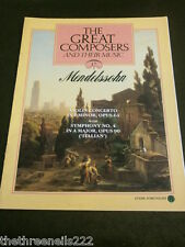 GREAT COMPOSERS #17 - MENDELSSOHN - VIOLIN CONCERTO