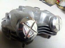 Triumph Finned Rocker caps (500 & 650) - Made in USA -chopper, bobber, custom