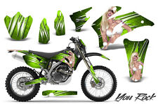 YAMAHA WR250F WR450F 2007-2011 GRAPHICS KIT CREATORX DECALS YRGNP