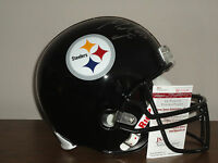 Maurkice Pouncey Signed Full Size Pittsburgh Steelers Football Helmet PROOF JSA
