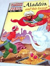 Classics Illustrated Junior-  Aladdin and his Lamp (1955 1st Print) #516