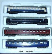Märklin 42752 Schnellzugwagen-set Insider Tour 96 H0
