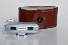 WATAMETER CONDOR Rangefinder, Shoe Mount, vintage with leather case.