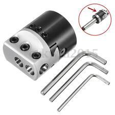 "2"" 50mm Boring Head 12mm Lathe Boring Bar Milling Holder For MT2 MT3 R8 Shank"