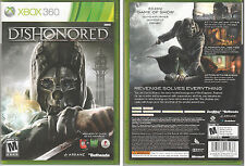 Dishonored (Xbox 360) Original Version - NOT Game of the Year Edition - Bethesda