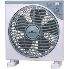 Ventilatore 3 Velocità - 45W - 30cm Ventola + Griglia Rotante + Timer BOX FAN