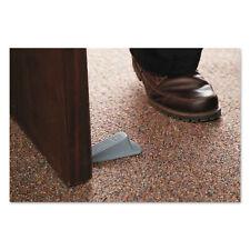 Master Caster Big Foot Doorstop, No-Slip Rubber Wedge, 2-1/4w x 4-3/4d x 1-1/4h,