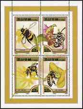 Timbres Insectes Abeilles Corée 2965/8 ** année 2000 lot 8850 - cote : 14 €