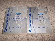 2005 Ford F250 F350 F450 F550 Service Repair Manual 6.0L Diesel XL XLT Lariat