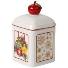 Villeroy & Boch CHRISTMAS Winter Ornaments CHARM Jampot #0016