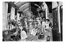 pt4514 - Whittingham Asylum , The Annex Female Ward corridor - photo 6x4