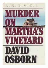 Murder on Marthas Vineyard by David Osborn