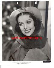 Vintage Loretta Young GORGEOUS GLAMOUR '37 Publicity Portrait