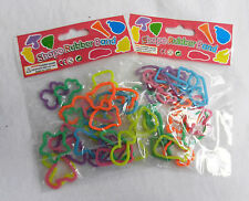 Diez envases X 24 en forma de bandas de goma/Bandas De Telar Bandas-Craft-Nuevo Y En Caja