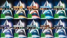 Star Trek RAUMSCHIFF ENTERPRISE Kinofilm Collection CAPTAIN KIRK + PICARD 10 DVD