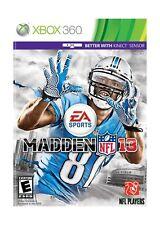 Madden NFL 13 - Xbox 360 New Sealed SFC