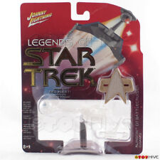 Legends of Star Trek Johnny Lightning Klingon Battlecruiser Cloak series 2