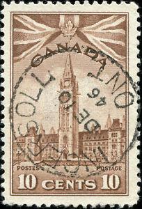Canada Scott 257 Parliament Buildings  Used SOTN (18642)