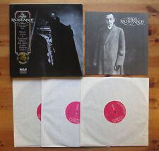 AVM3 0261 The Complete Rachmaninoff Vol. 2 RCA Victrola 3xLP Box Set NEAR MINT
