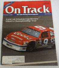 On Track Magazine Nascar Winston Cup Review February 1989 080614R