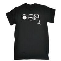 Rock Climbing Kids Childrens T-Shirt Funny tee TShirt - Eat Sleep Rock Climbing