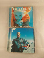 Moby 18 and Everything Is Wrong  CD's New Old Stock