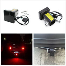 """Truck 12-LED Brake Light Trailer Hitch Cover For Towing & Hauling 2"""" Receiver"""