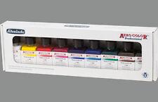 Schmincke kit 9 colori aerografo primari Aero Color 28 ml - primary color set