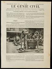 1909, Expérience du pétrissage mécanique : Essais du pétrin Bugaud