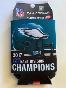 Philadelphia Eagles 2017 Division Campions Can Cooler 12 oz. Koozie NFL