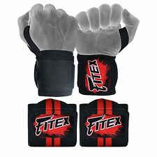Weight Lifting Wrist Straps Bodybuilding Gym Deadlift MMA Fitness Gym Training