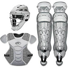 Rawlings Sporting Goods Vcsa-w/sil Adult Catcher Set VELO Series Protective Age