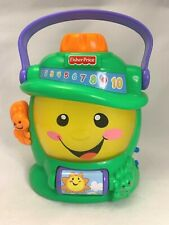 Fisher-Price Laugh and Learn Learning Lantern Green Toddler Toy CLEAN