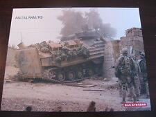 AAV7A1 RAM/RS Assault Amphibious Vehicle Data Sheet