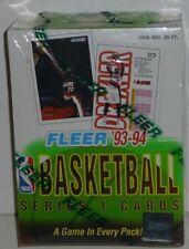 1993-94 Fleer Basketball Factory Sealed Box