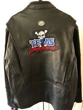American Ironhorse Texas Chopper Mens Black Leather Jacket Large Super-Rare Nwt!