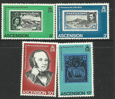 ASCENSION IS.1979 SIR ROWLAND HILL 4V MNH