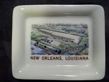 VINTAGE CONTINENTAL CARS NEW ORLEANS LOUISIANA GINORI DISH MADE IN ITALY NICE!!!