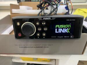 Fusion AV-750 Marine 4 Zone Stereo. DVD, Demo Unit. L@@K!
