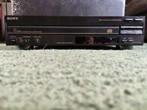 Sony CDP-C30 CD Player/Changer